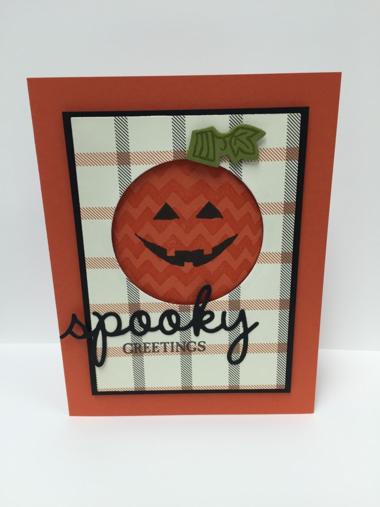 Stamp with Dara: Spooky Greetings Card