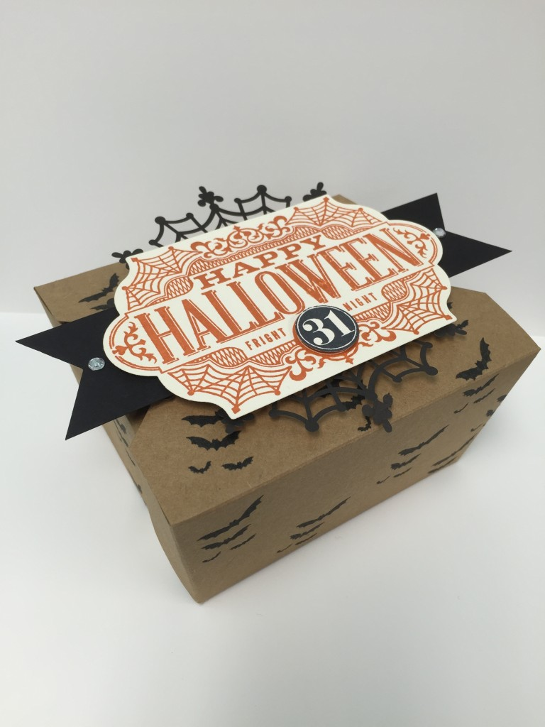Stamp with Dara: Witches' Night Takeout Box