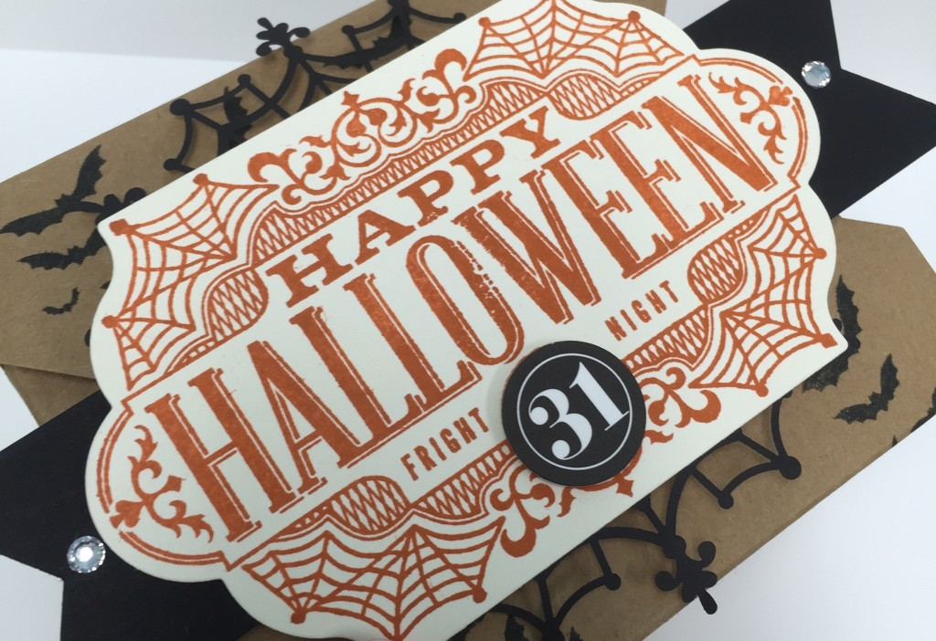Stamp with Dara: Happy Halloween Takeout Box