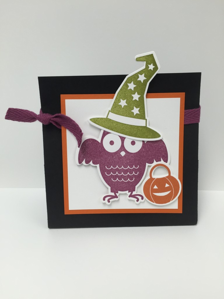 Stamp with Dara: Howl-o-ween Treat Bag