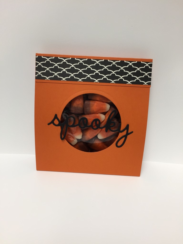 Stamp with Dara: Spooky Treat Bag