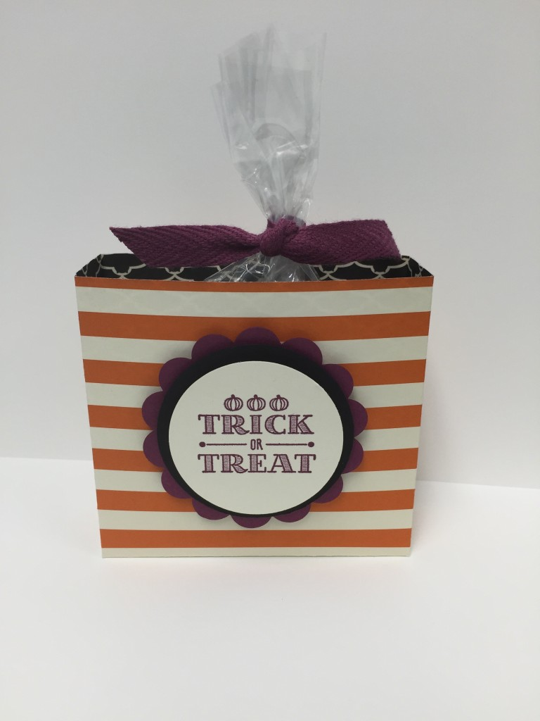 Stamp with Dara: Trick or Treat Box