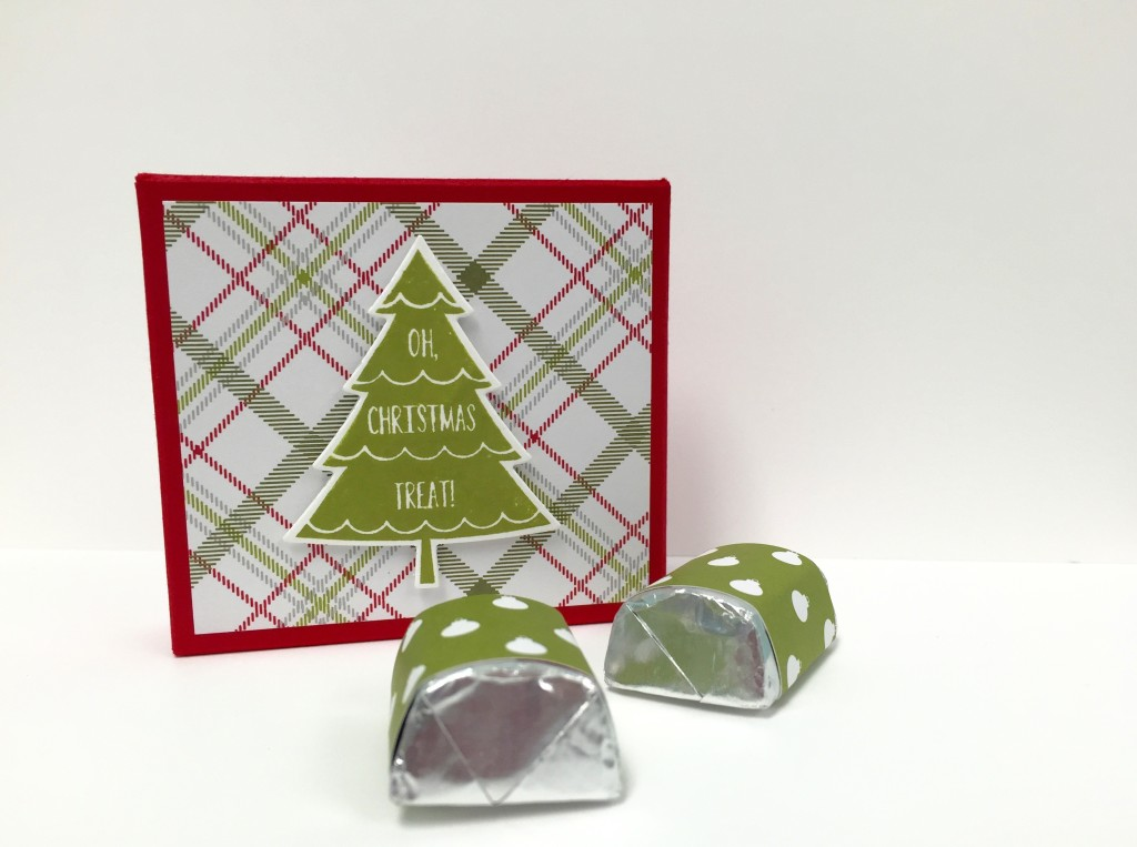 Stamp with Dara: Peaceful Pines Nugget Treat Box