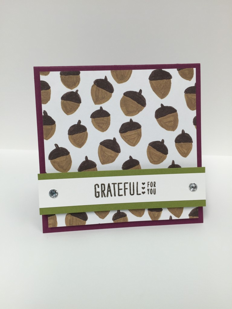 Stamp with Dara: Grateful For You Love Note