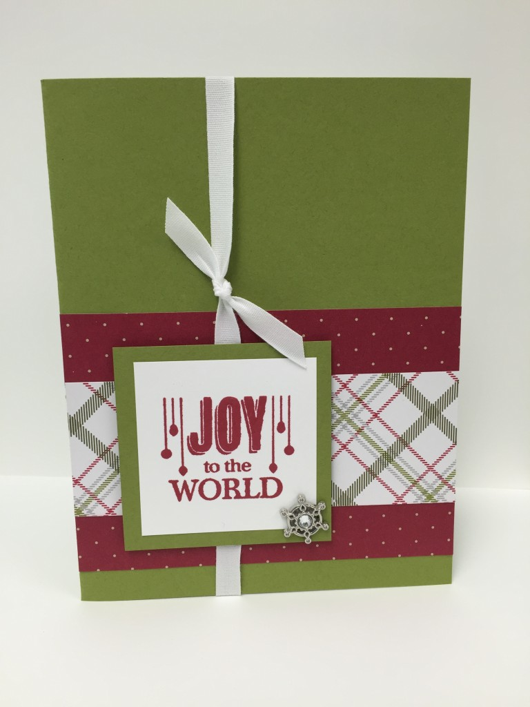 Stamp with Dara: Jolly Christmas Card